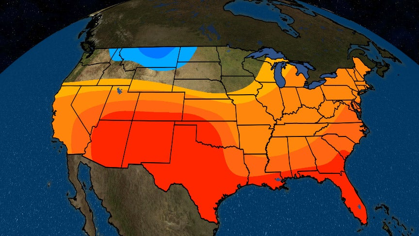 Spring 2018 to Feature Above-Average Temperatures in South, East and ...