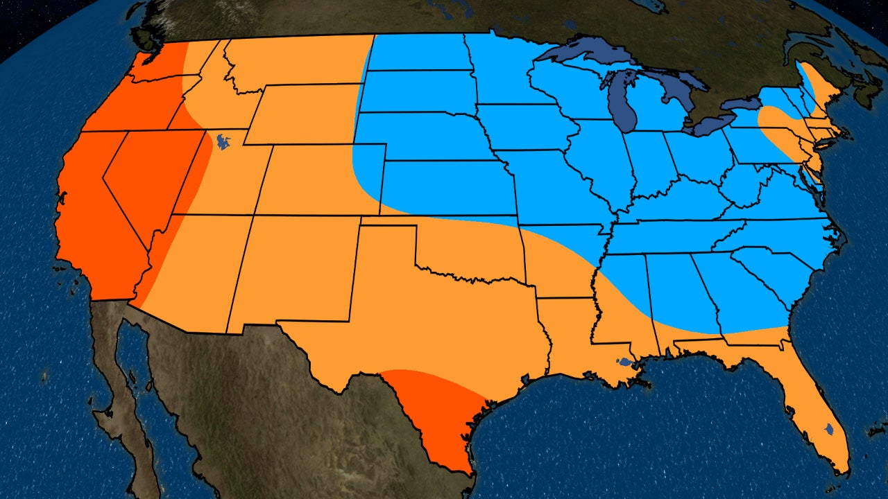 Late-Summer and Early-Fall Temperature Outlook: Remaining Warm in the West, Turning Cooler in the East