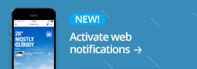 Activate web notifications