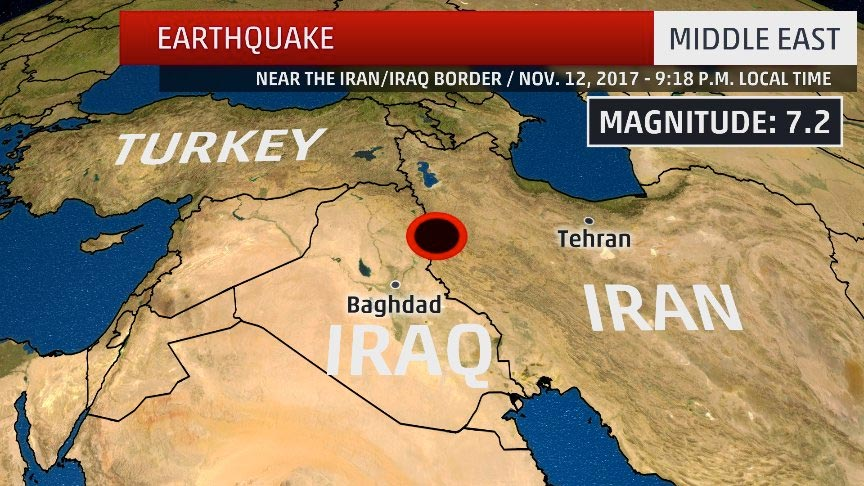 At least 2 dead after 73 magnitude earthquake strikes near iran at least 2 dead after 73 magnitude earthquake strikes near iran iraq border the weather channel gumiabroncs Image collections