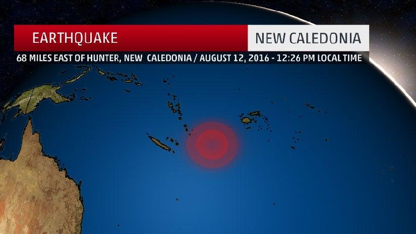 7.2-Magnitude Earthquake Hits South Pacific; Tsunami Warning Canceled