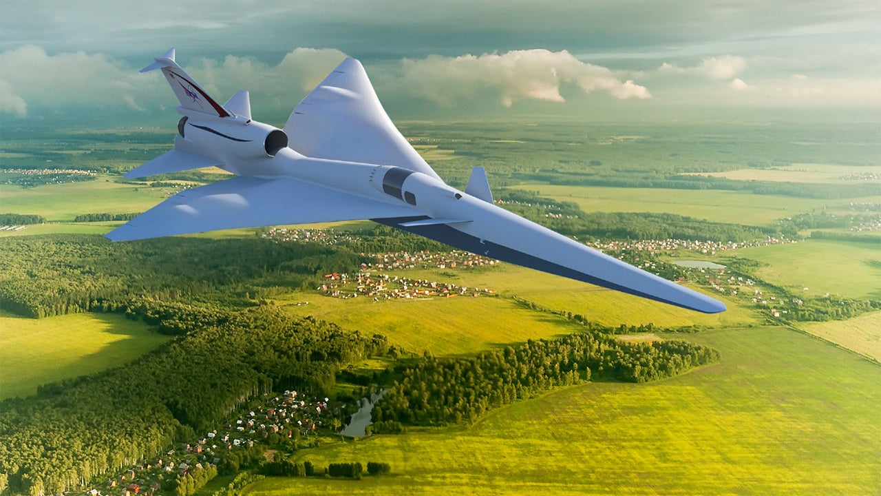 NASA Tests 'Quiet' Supersonic Boom That Could Change Air Travel