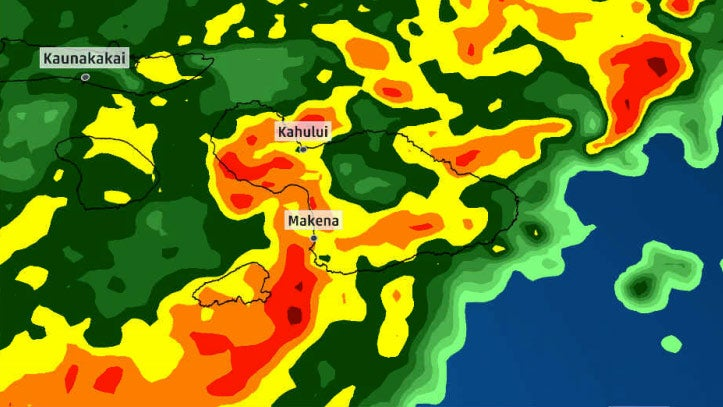 Entire Island Of Maui Loses Power As Severe Storms Pound Hawaii