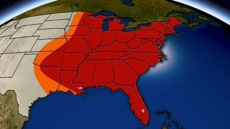 Record-Breaking Christmas Heat Clinches Record Warm December For Hundreds of Cities