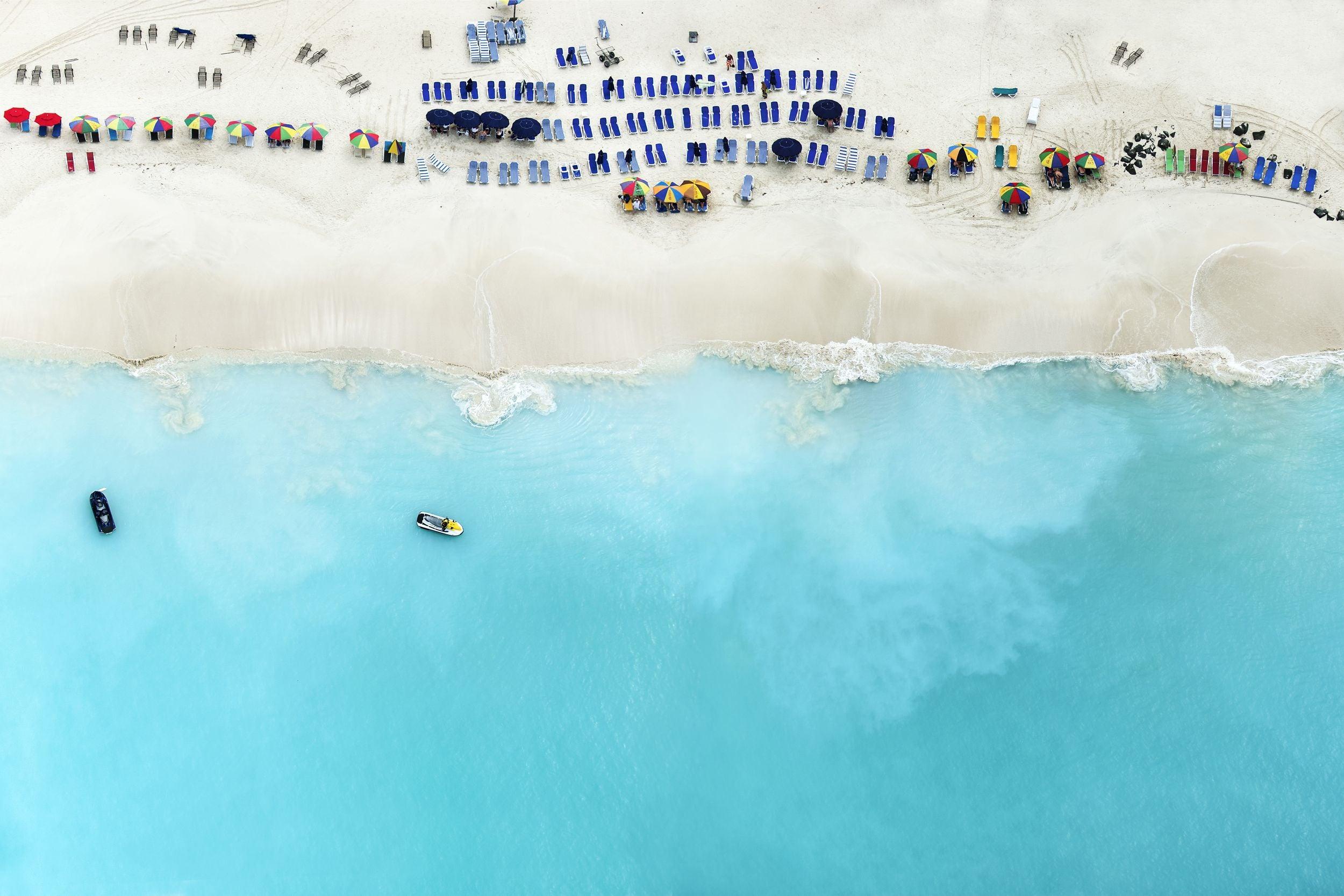 Increíbles fotografías aéreas de playas soleadas en Antigua (FOTOGRAFÍAS)