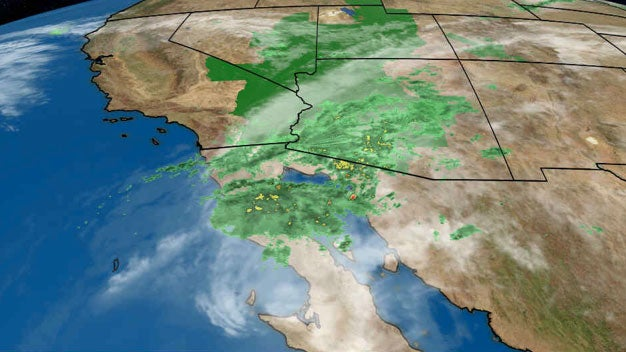 Tropical Storm Rosa Fueling a Flood Threat in Southwest United States as it Head...