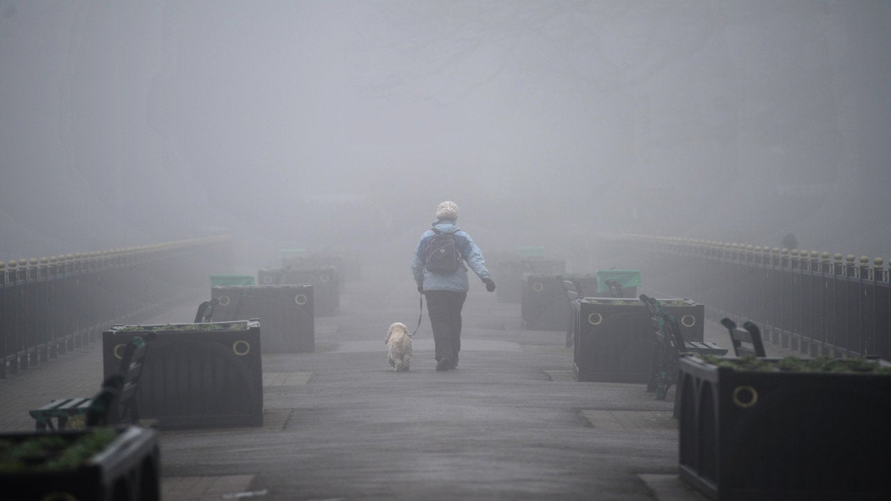 Getting colder! Winter chill takes control with fog ...