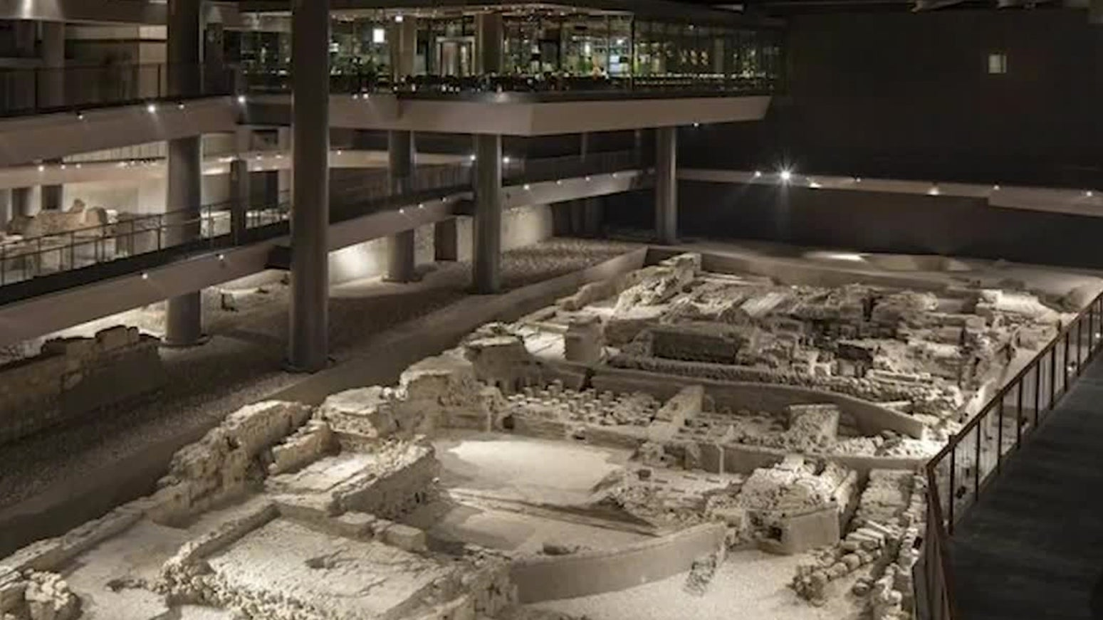 Construction Crew Unearths Ancient Ruins, Then Keeps Building