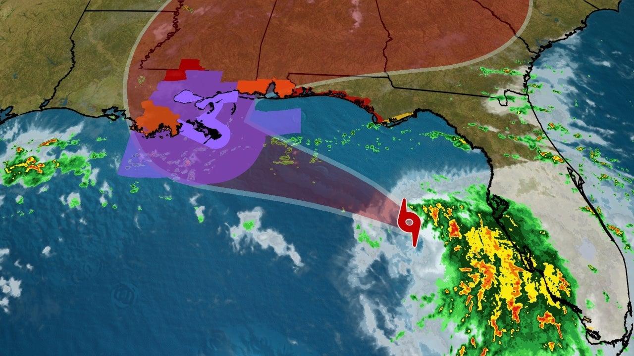 Tropical Storm Sally Tracker: Spaghetti Plots, Projected ... Hurricane Sally Tracker Today