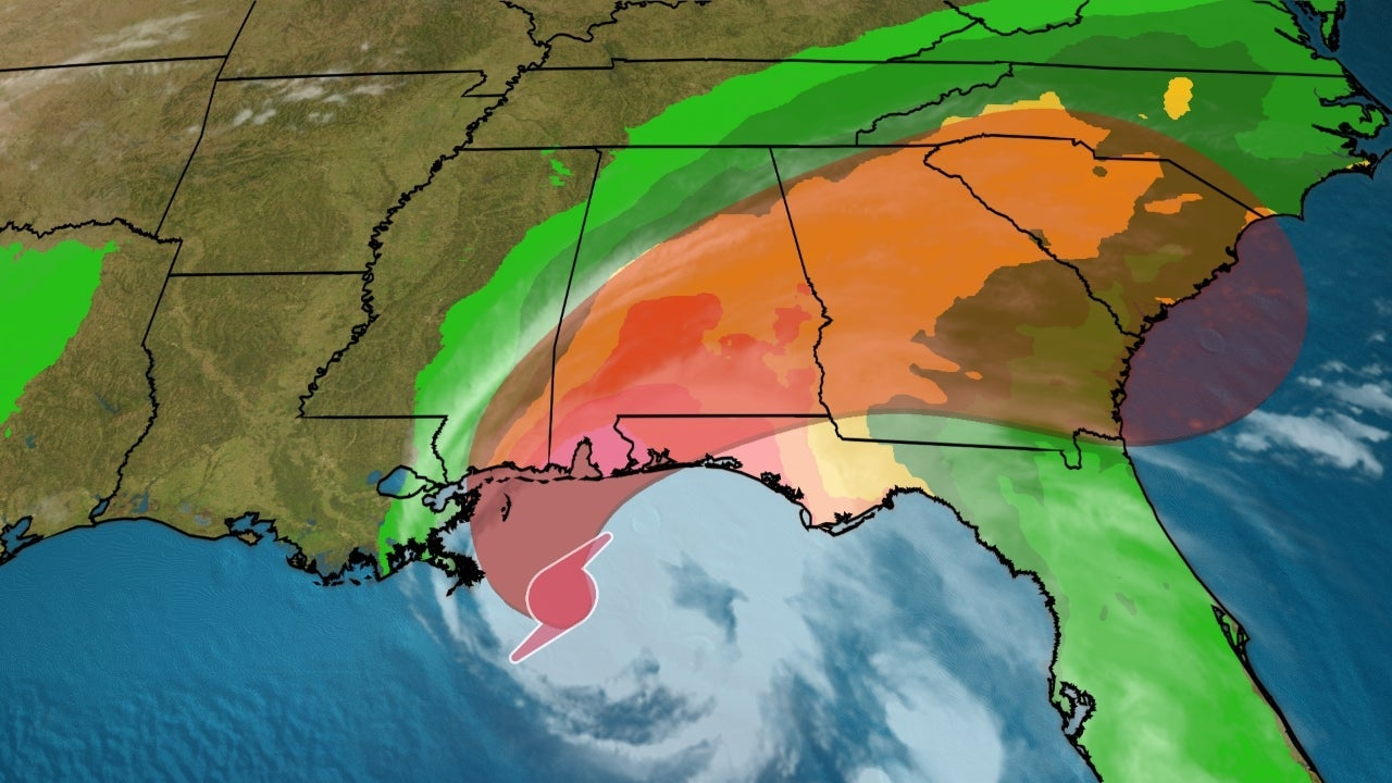 Hurricane Sally Crawling Toward Gulf Coast With Life-Threatening Storm Surge and Potentially Historic Flooding Rainfall   The Weather Channel