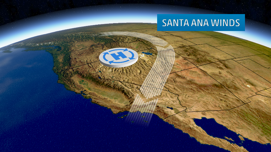 santa ana winds in southern california  recap
