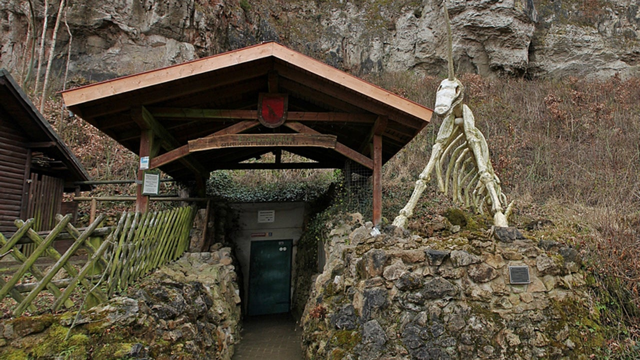 The Weird History Behind Germany's Unicorn Cave (PHOTOS)