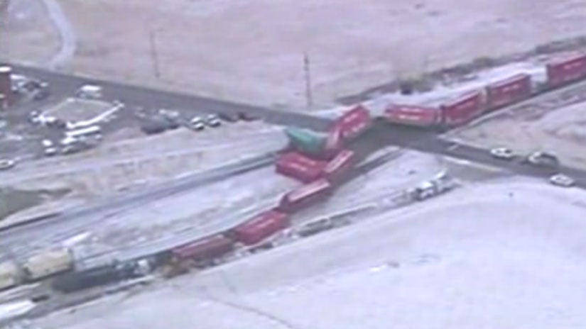 trains collide near columbus  ohio  injuries reported