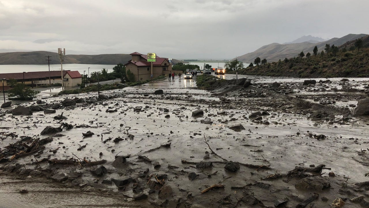 Nevada Mudslides Close U.S. 395 in Douglas County