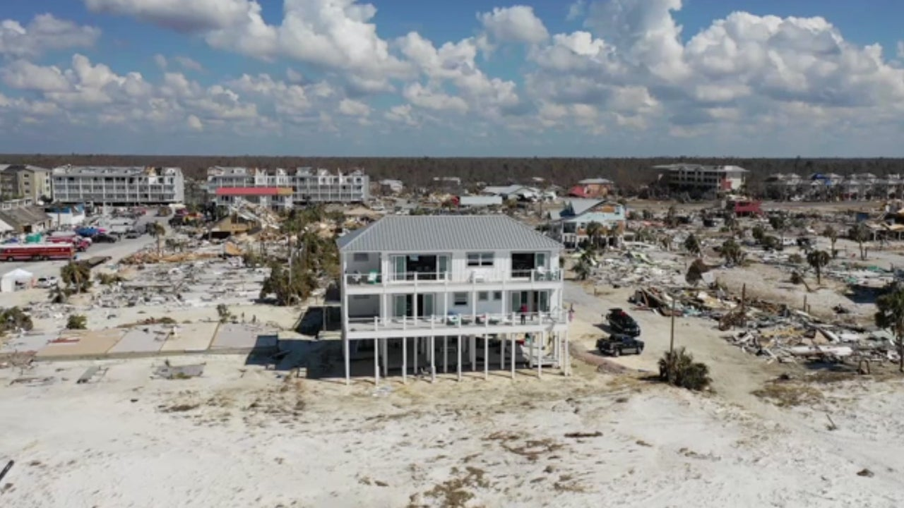 Here's How That One Mexico Beach House Survived Hurricane Michael