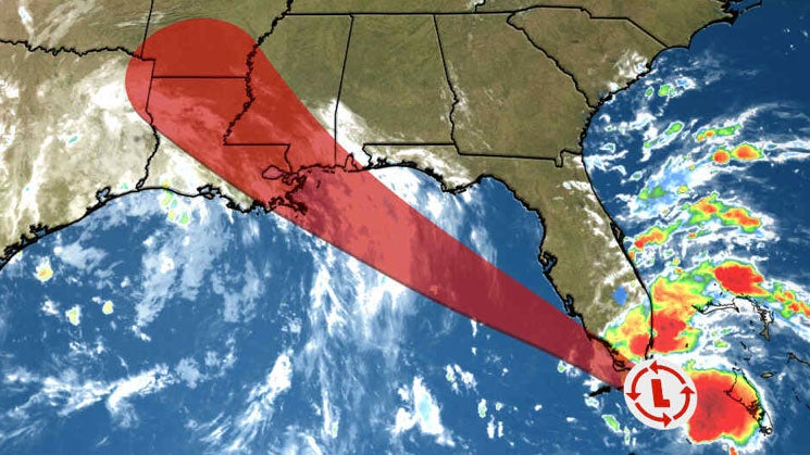 Tropical Storm Gordon Forms Near South Florida; Warnings Issued for South Florid...