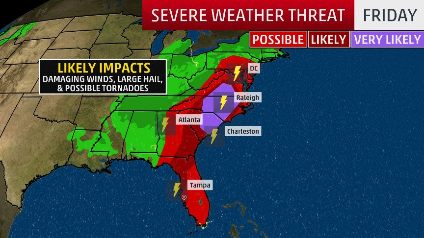 Severe Weather Siege: April 17-19 (RECAP) | The Weather Channel