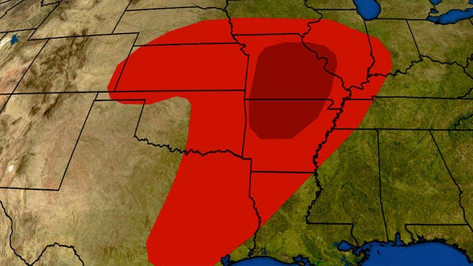 Severe Thunderstorms and Flash Flooding to Remain Threats in Plains and Midwest Into Late Week