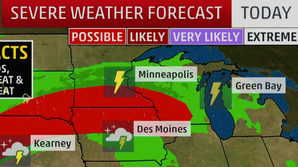 Midwest Looking at Some Severe Weather Potential