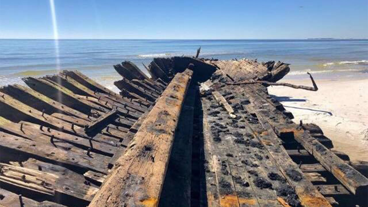 Michael Unearths 19th Century Ships Wrecked on Florida's Dog Island During 1899 Hurricane