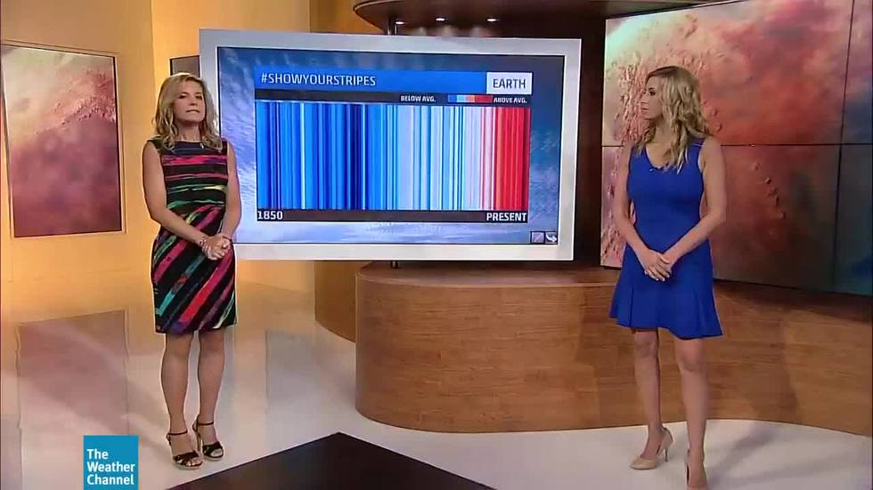 meteorologists show their colors for metsunite day