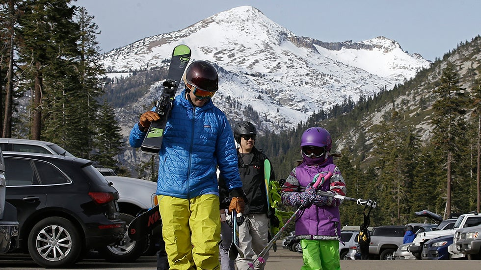 California May Be Returning to Drought Again and Sierra Snow Droughts May Become More Common