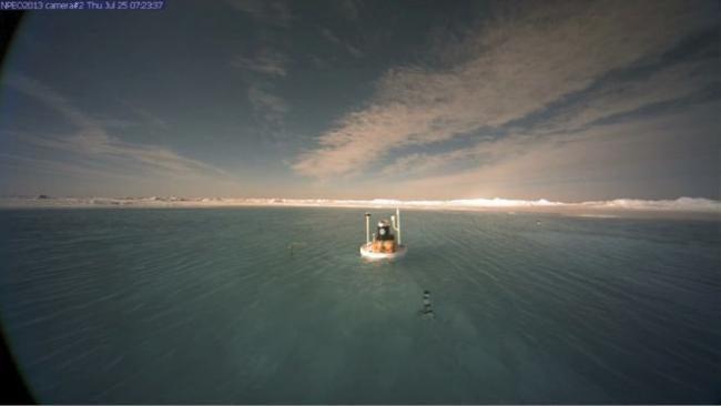 North Pole Melt Pond