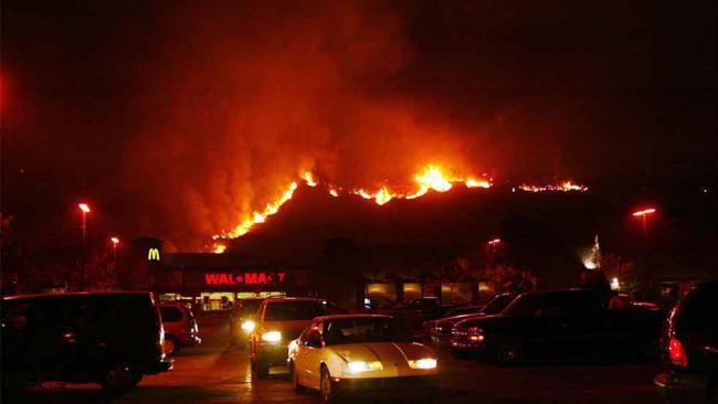 #1 Cedar Fire: 273,246 Acres (2003)