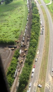 Louisiana Train Derailment