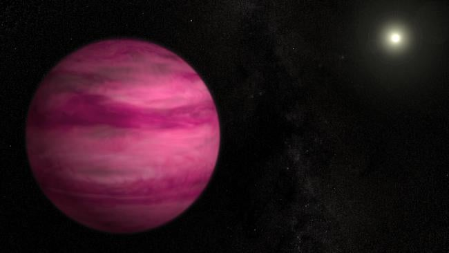 giant pink planet - photo #3