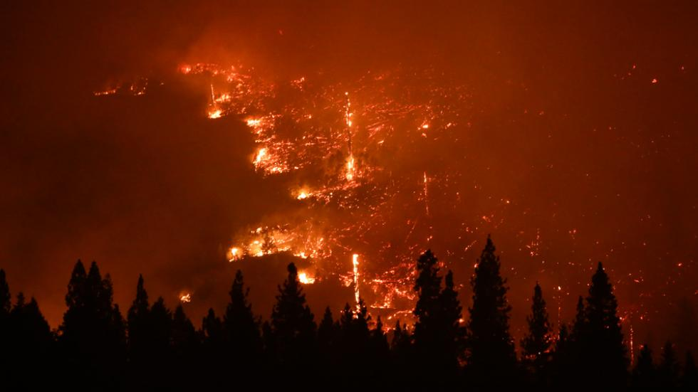 Yosemite California Wildfire