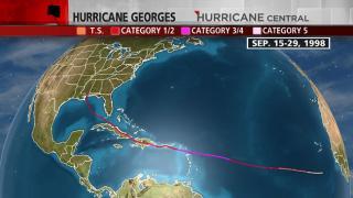 Hurricane Georges 1998
