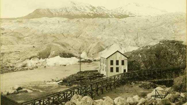 Mendhall Glacier, Alaska: Undated Photo