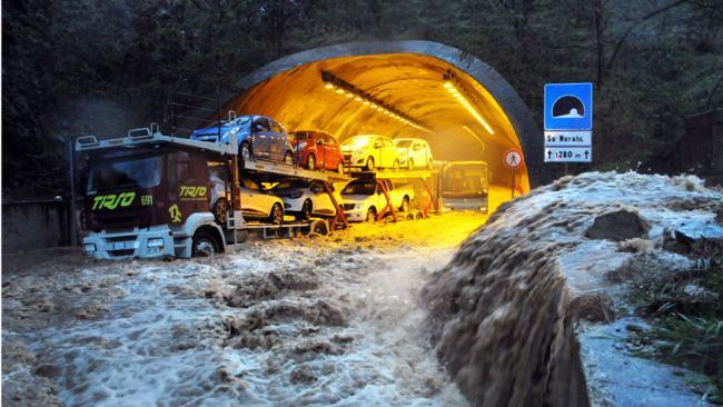 'Apocalyptic' Storm in Sardinia