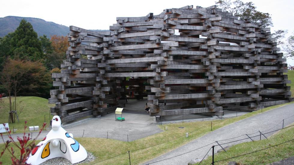 Hakone Open Air Museum, 'Woods of Net'