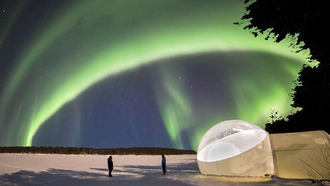 Nellim, Finland- The Aurora Bubble