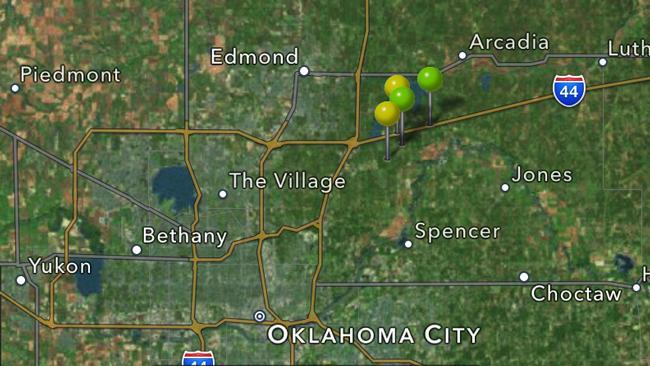 Oklahoma Earthquakes