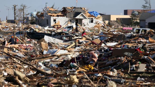 Hit By a Tornado: Once Every 913,125 Days