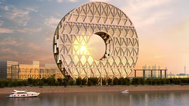 architectural insight behind china s circular skyscraper