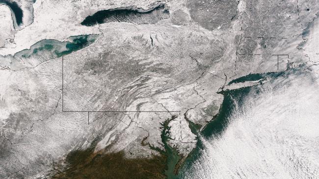Hercules Satellite Image