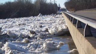 Illinois Ice Jam