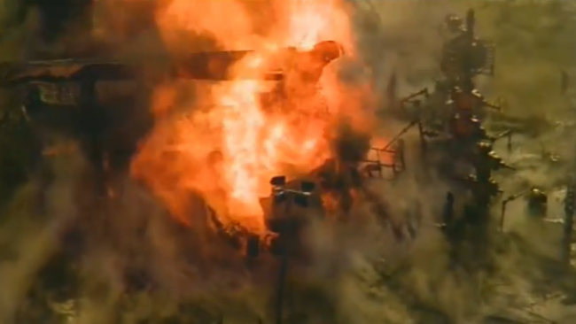 Pennsylvania Oil Well Explosion
