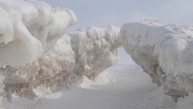 Crystal Beach Ontario Ice Caves