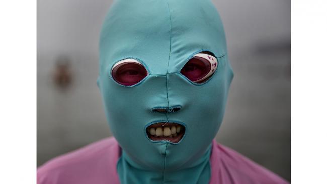 Facekini маски для лица против ультрафиолета