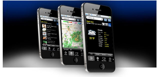 The Weather Channel App for iPhone MAX