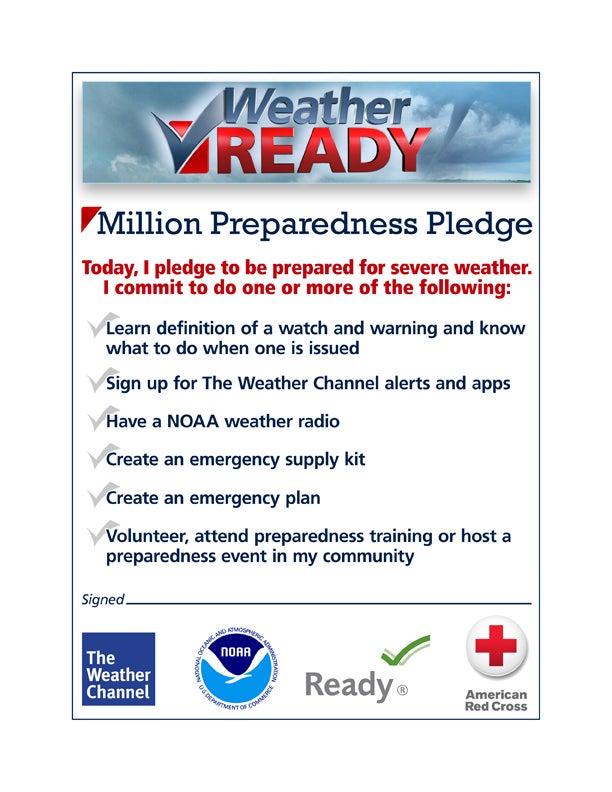 Weather preparedness training online