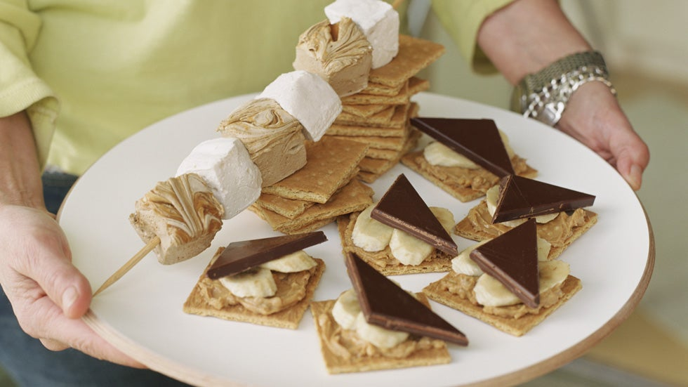 Banana-Nutella S'Mores - weather.com