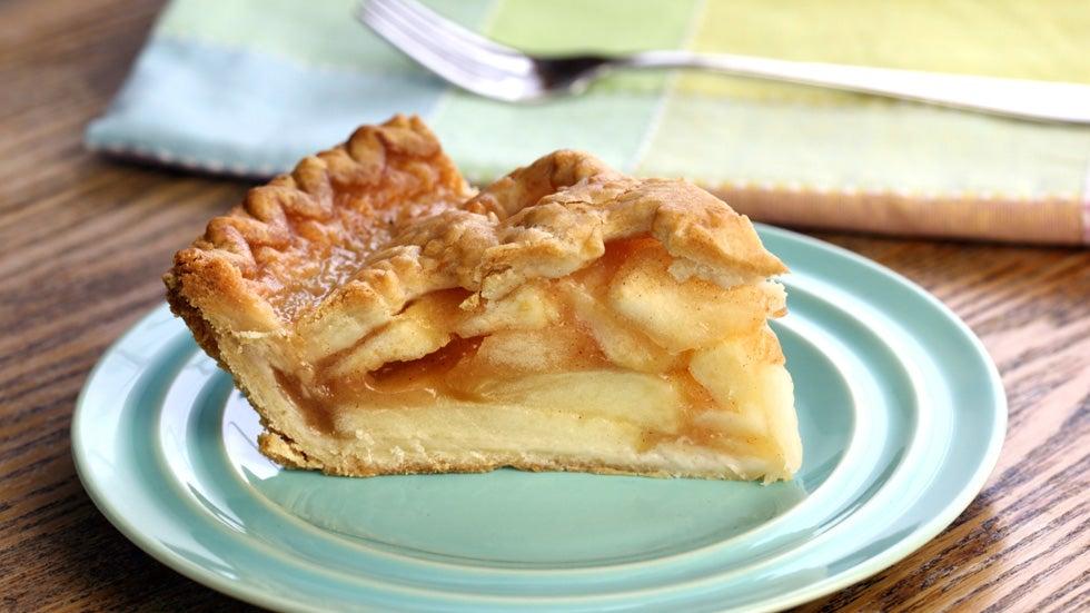 ... double crust apple pie recipe myrecipes com double crusted apple pie