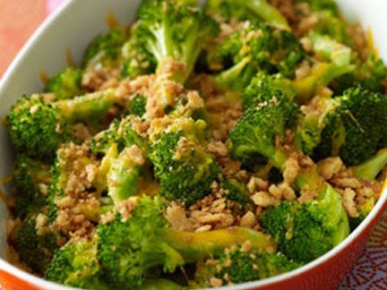 crunchy broccoli bake