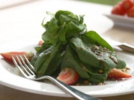 spinach,salad
